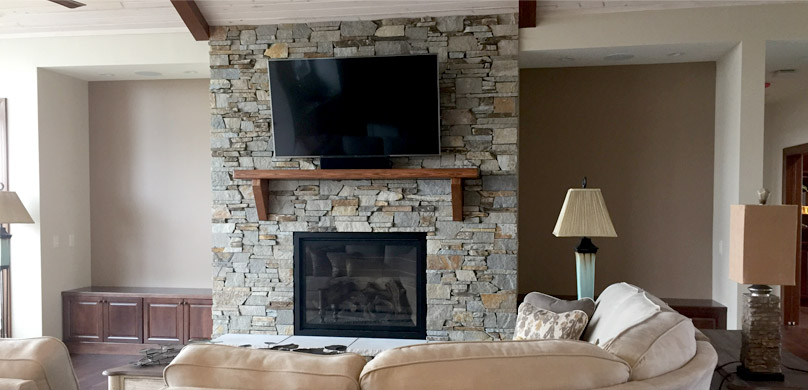 Builder's Choice living room design